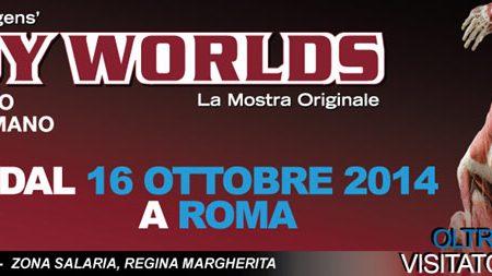 Body World Mostra all' Interno del Corpo Umano a Roma