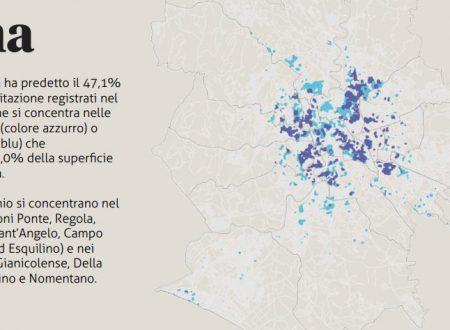 Furti nelle case a Roma quali sono i quartieri piú colpiti